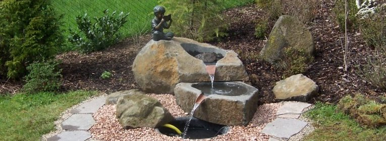 natursteinbrunnen garten, steinmetz kaspers - grabmale - bildhauerei - naturstein in haus und, Design ideen