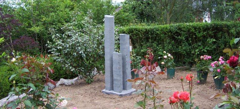 Natursteine Kaspers - Säulen und Dekoration