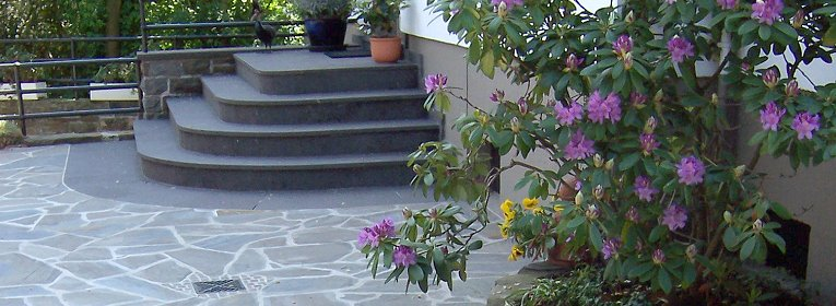 Natursteine Kaspers - Treppen und Böden